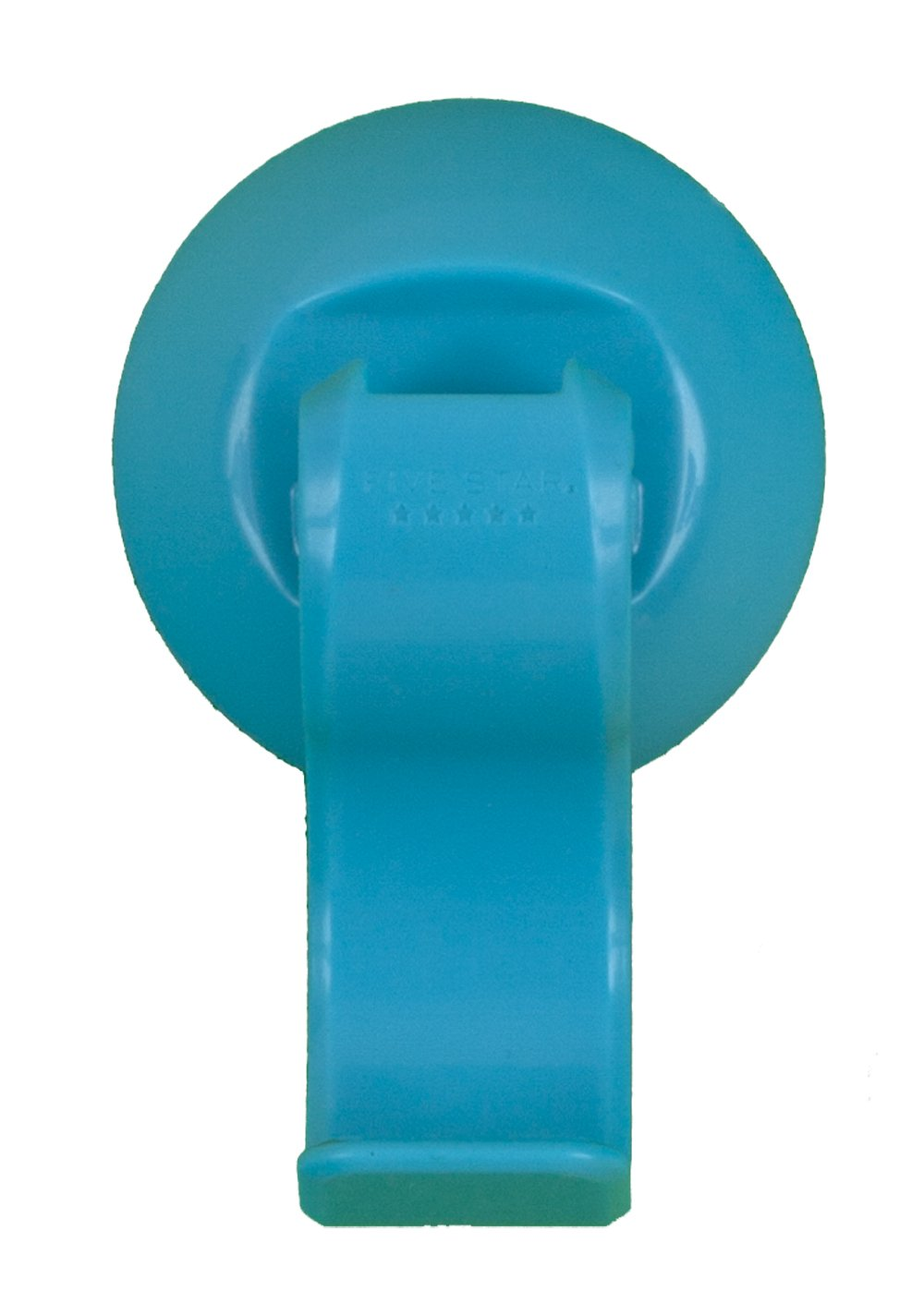 Five Star Suction Cup Hook, 2.63 x 1.93 x 1 Inches, Teal (72636) by Five Star (Image #1)