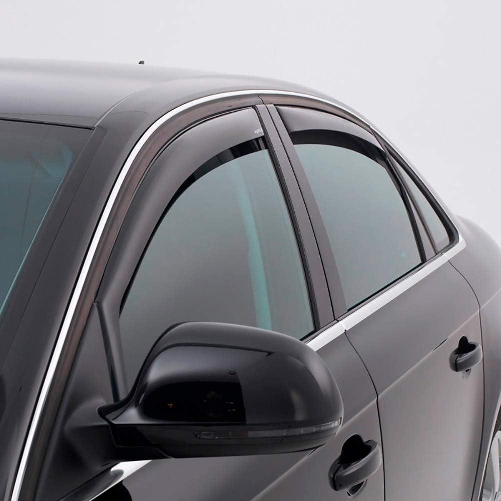 Trasera ClimAir M2032 Dark Deflectores de Aire Master Negro Compatible con Seat Arona 2017