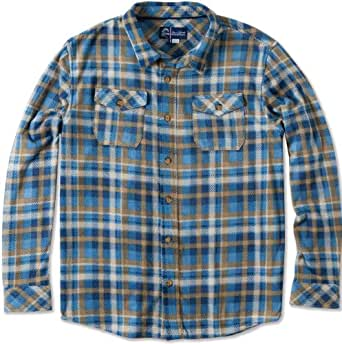 O'Neill Mens Jack O'Neill Theory Button Up Long-Sleeve Shirt, Stone, Small