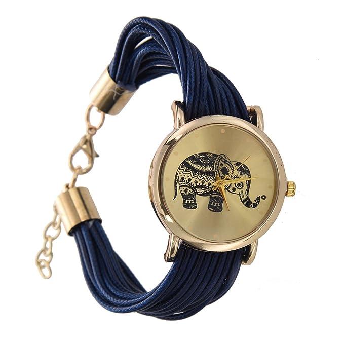 Reloj De Pulsera - Sodial(R)Reloj De Pulsera Trenz...