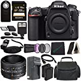 Nikon D500 DSLR Camera (Body Only) + Nikon AF NIKKOR 50mm f/1.8D Lens + Rechargable Li-Ion Battery + Home and Car External Charger + Sony 128GB SDXC Card + HDMI Cable + Remote + Flash Bundle?