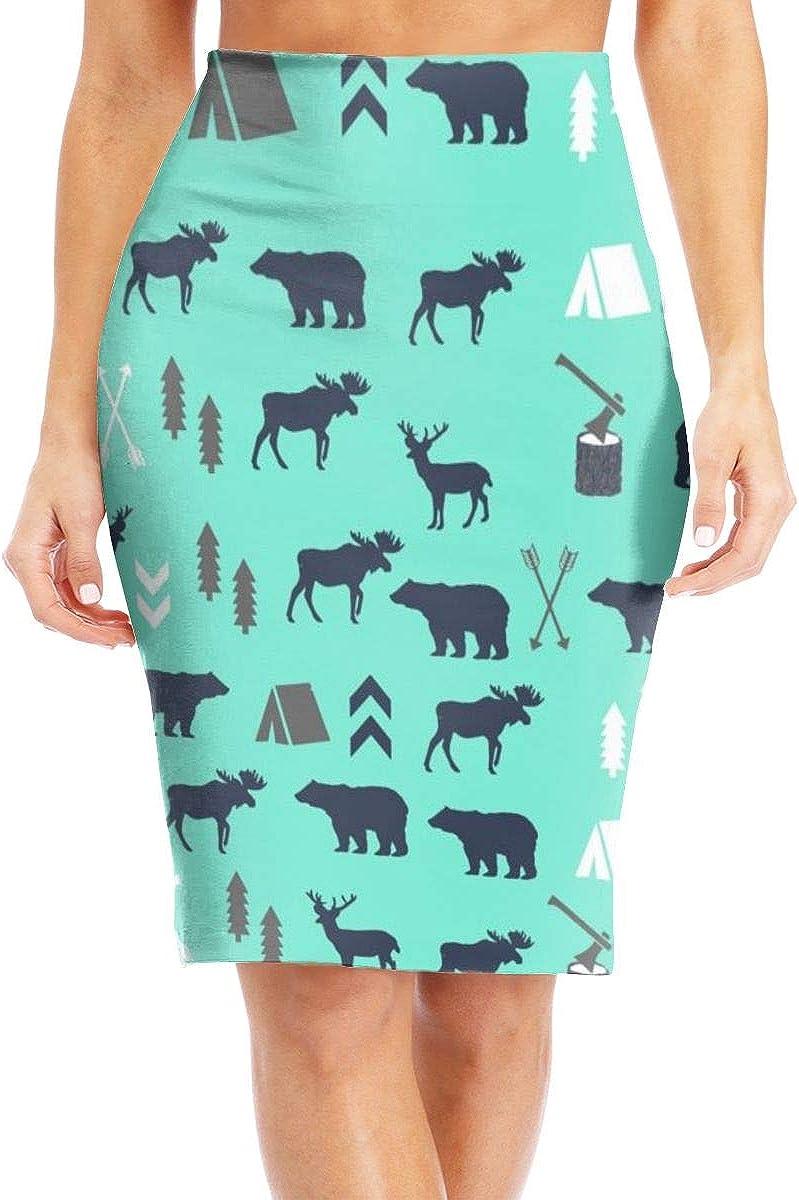 Maxi Skirt Midi Skirt Office Dress YongColer Pencil Midi Skirts for Women Girls Ladies