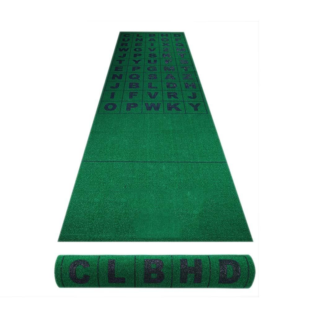 パッティングマット ゴルフマット練習用ゴルフ打撃マット屋内芝生マット屋外ゴルフトレーニング芝マットゴルフトレーニングマット人工芝マット (Color : Green, Size : 100x350cm) 100x350cm Green B07R49HKZX