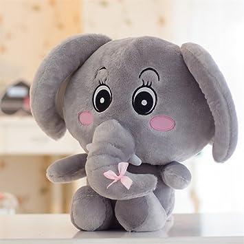 YOIL Lindo y Encantador Juguete Suave Peluches Adorable 50x40cm Peluche de Peluche Elefante de Peluche Elefante