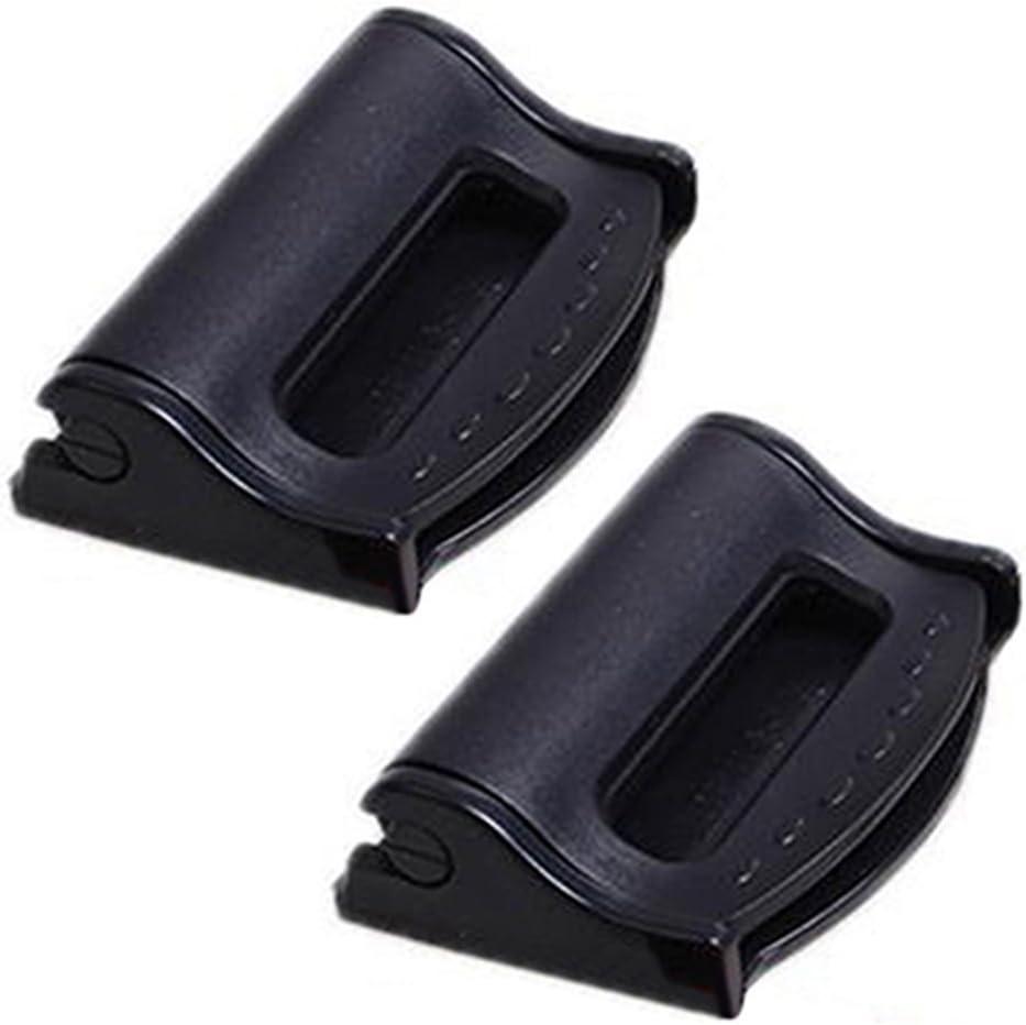bodhi2000/2/Pcs Auto Kunststoff Sicherheitsgurt Clips Sicherheit Stopper verstellbar Schnalle blau plastik Einheitsgr/ö/ße