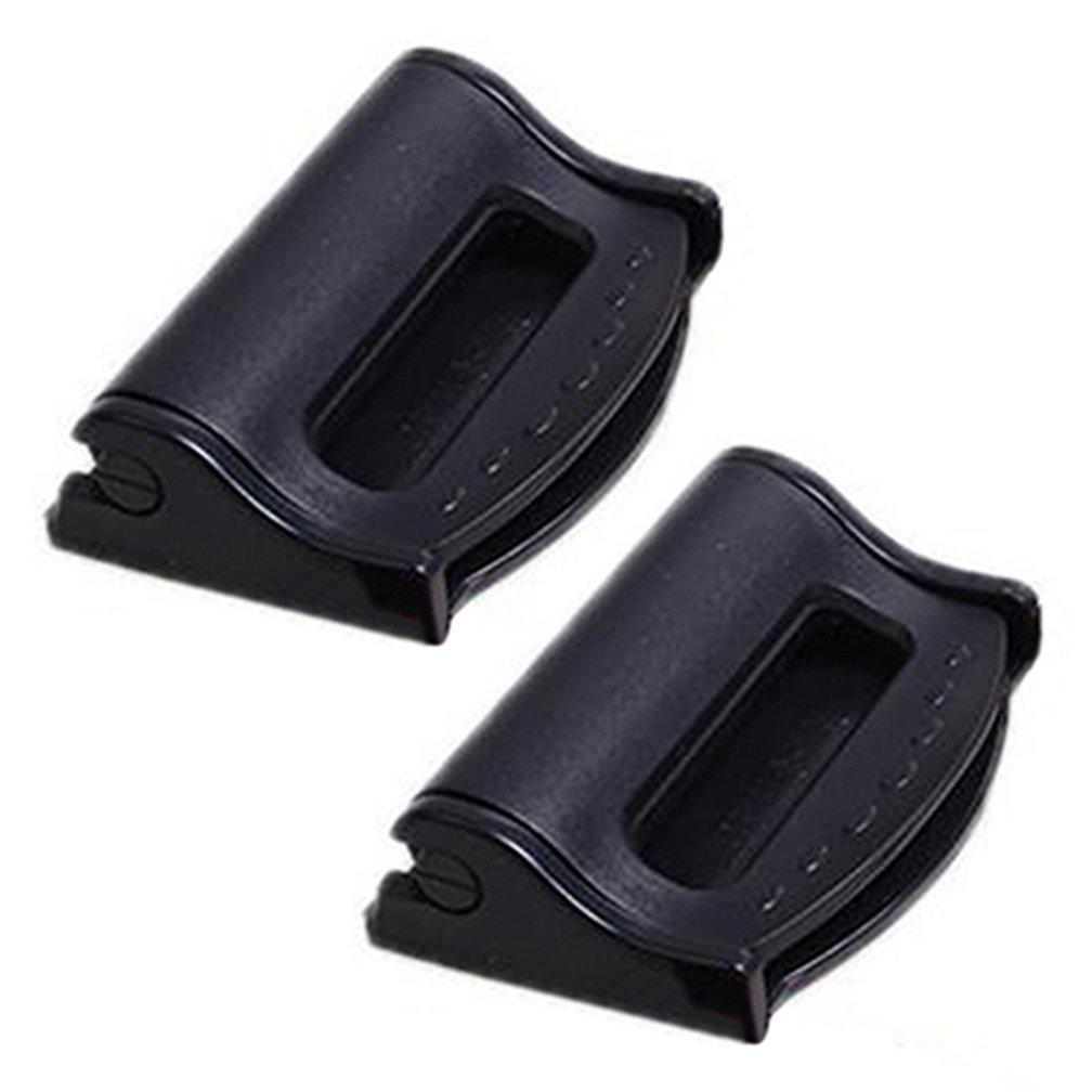 plastik Einheitsgr/ö/ße bodhi2000/2/Pcs Auto Kunststoff Sicherheitsgurt Clips Sicherheit Stopper verstellbar Schnalle blau