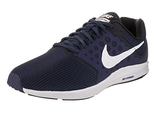 a3d15043c39e Nike Men s Downshifter 7 (4E) Midnight Navy White Running Shoe 11.5 4E Men  US  Amazon.co.uk  Shoes   Bags