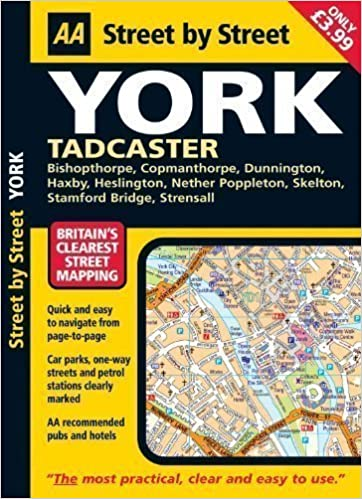 Book York: Midi (AA Street by Street) 3rd (third) Revised Edition published by Automobile Association (2007)
