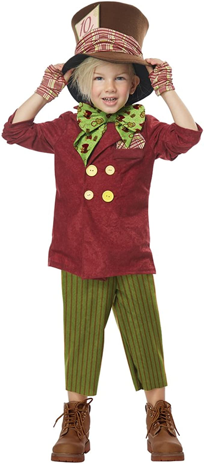 Amazon Com California Costumes Lil Mad Hatter Toddler Costume Toys Games