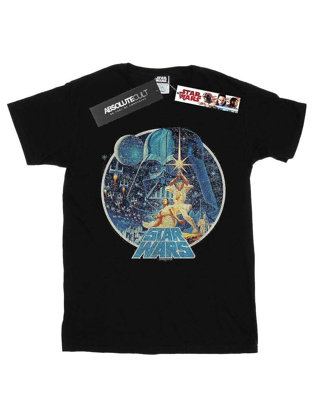 Star Wars Hombre Vintage Victory Camiseta: Amazon.es: Ropa y ...