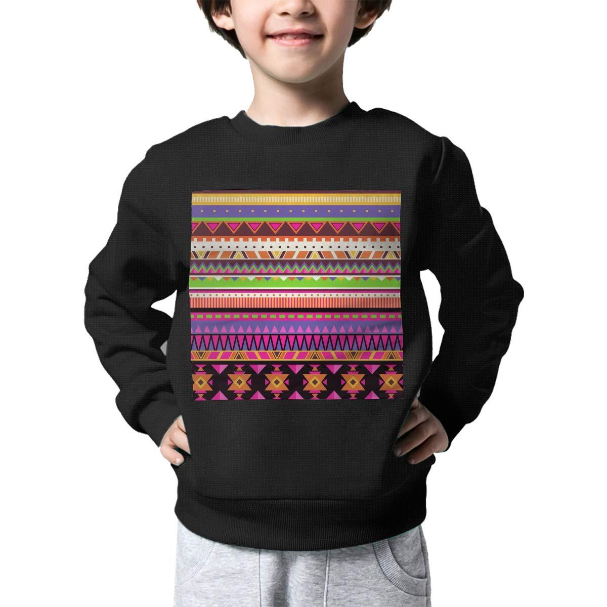 NJKM5MJ Boys Girls Nation Geometric Pattern Lovely Sweaters Soft Warm Childrens Sweater