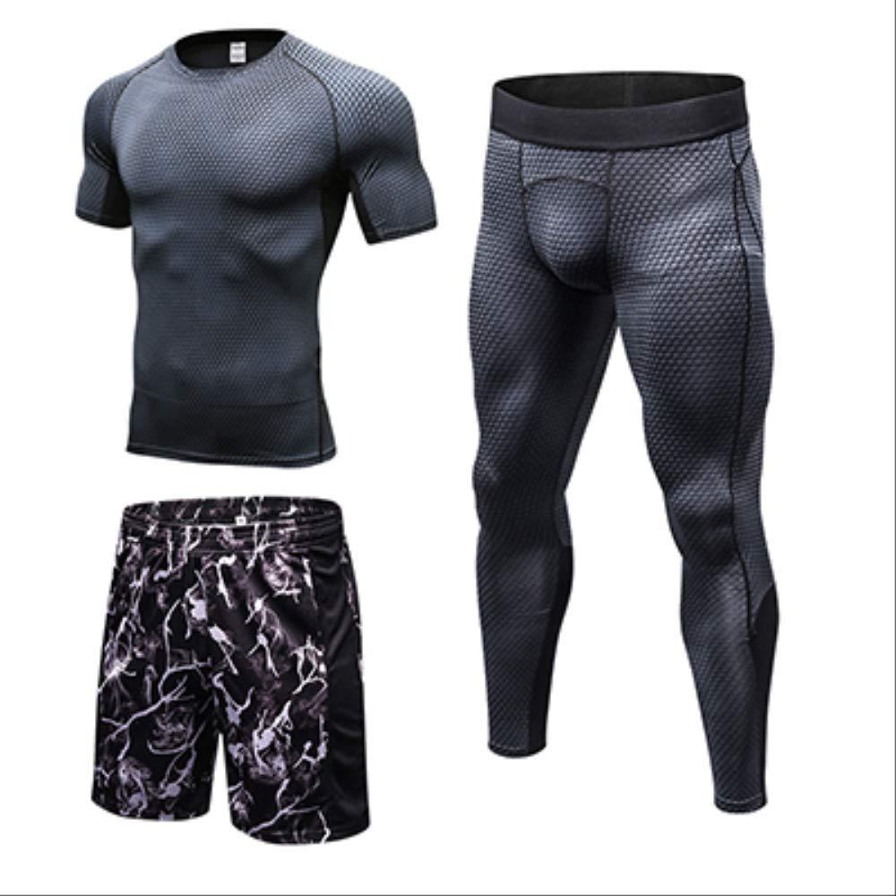 3Piece noir XL NUASH Compression FonctionneHommest Hommes VêteHommests Sport Joggers Trainning SurvêteHommest pour Hommes Workout Sport Suit