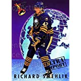 Richard Smehlik Hockey Card 1992-93 Ultra Import #22 Richard Smehlik