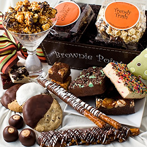 Brownie Points Irresistible Basket (Brownie Points Popcorn compare prices)