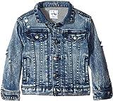 SUPERISM  Baby Boy's Corbin Long Sleeve Denim Jacket (Toddler/Little Kids/Big Kids) Indigo Outerwear