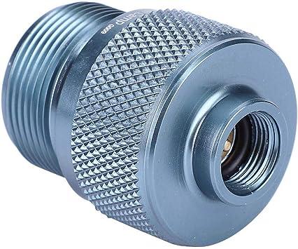 VGBEY Adaptador del Tanque de Gas, válvula del convertidor de la Estufa de la aleación de Aluminio del Quemador del Bote del Gas