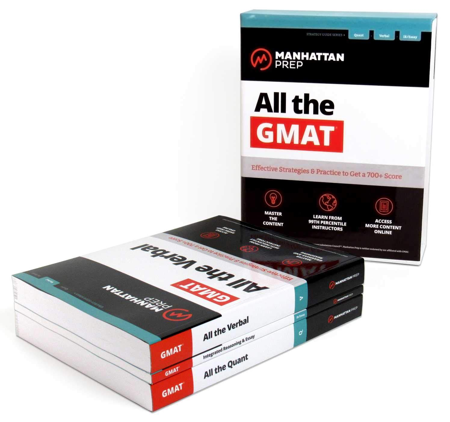 All the GMAT: Content Review + 6 Online Practice Tests + Effective Strategies to Get a 700+ Score (Manhattan Prep GMAT…