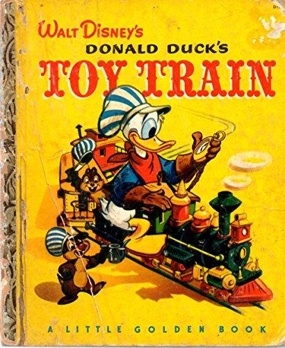 Walt Disney's Donald Duck's Toy Train (A Little Golden Book D18)