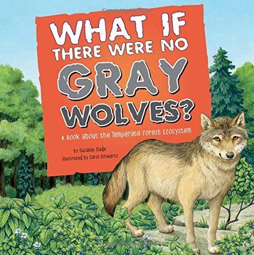 What If There Were No Gray Wolves?: A Book About the Temperate Forest Ecosystem (Food Chain - Wolf Gray