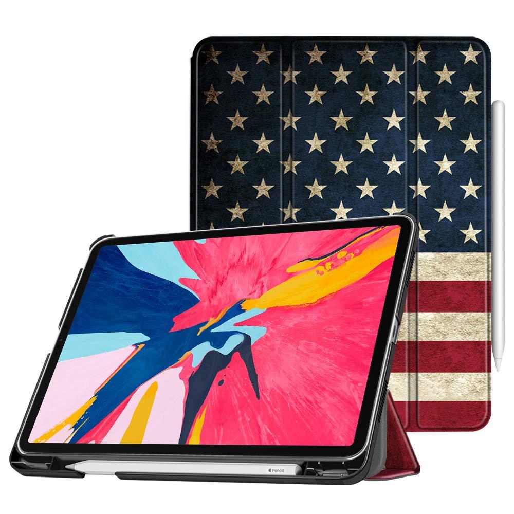 [宅送] Fintie EPAH195US iPad Pro 11インチ2018用内蔵Apple Pencilホルダー付きケース [Apple Pencil第2世代充電モードをサポート] EPAH195US [Apple ZA-US B07KWRHB19 Flag B07KWRHB19, アサヒデンキ:a2911e00 --- a0267596.xsph.ru
