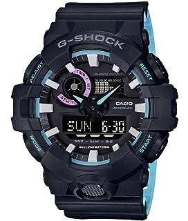 Casio Reloj Analogico-Digital para Mujer de Cuarzo con Correa en Resina GA-700PC