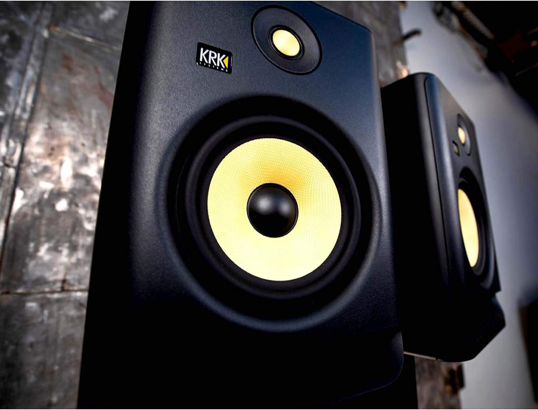 KRK Rokit RP5G4 4th Gen 5 Powered Active Studio Monitor Speaker Pair TRS Cables