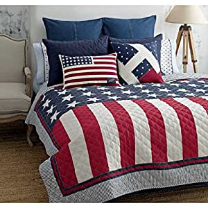 Tommy Hilfiger Americana Cotton Quilt