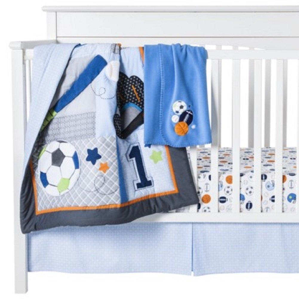 Amazoncom Circo Lil Player Piece Nursery Set Baby - Circo comic bedding set