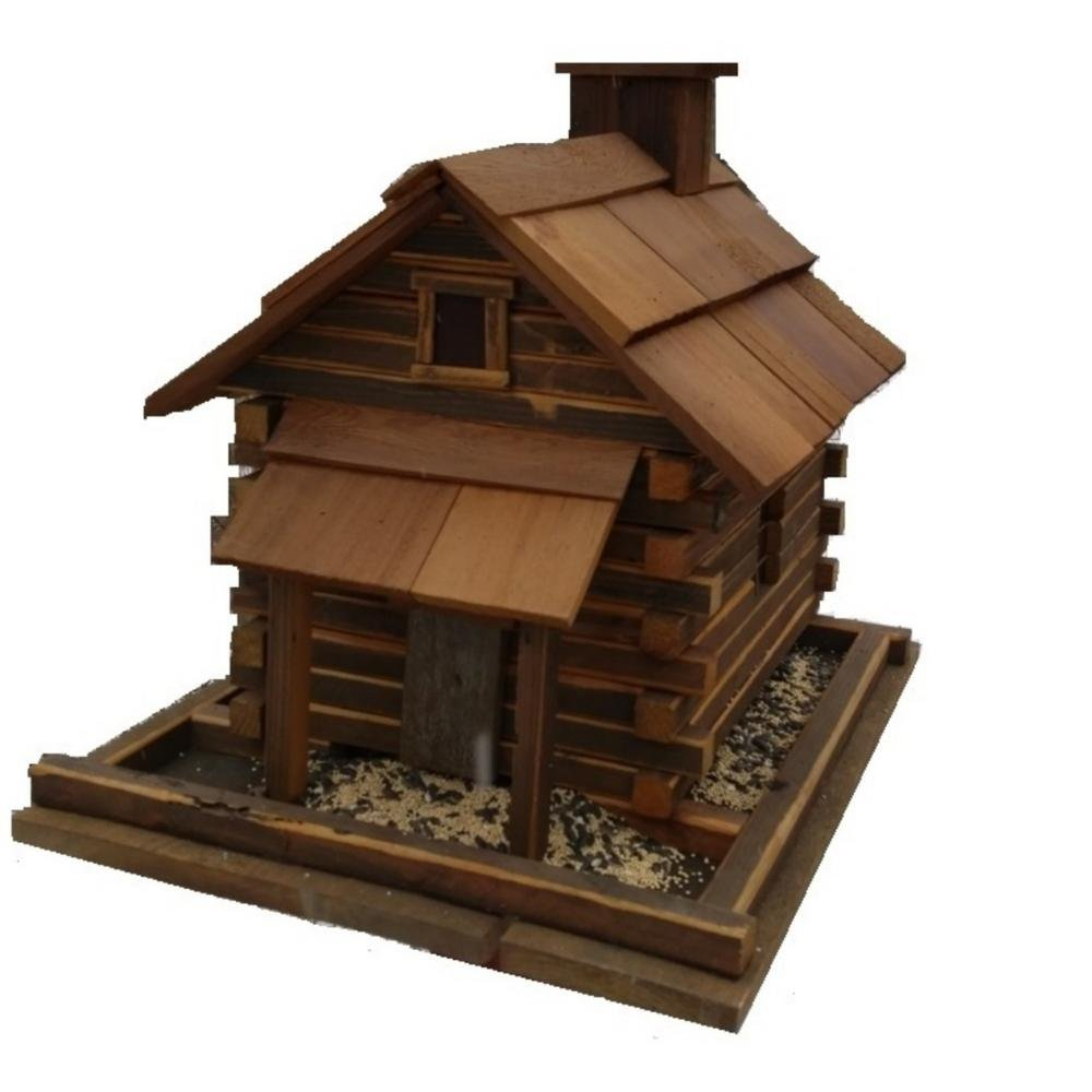 Home Bazaar Valley Forge Feeder (Large) Natural Cedar