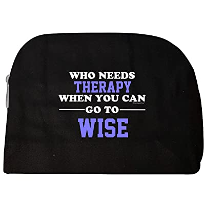 60119bdc04 hot sale Who Needs Therapy When You Can Go To Wise - Cosmetic Case ...