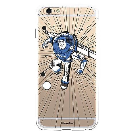 Carcasa Oficial de Disney Buzz Lightyear Clear para iPhone 6 Plus - 6S Plus - La Casa de Las Carcasas