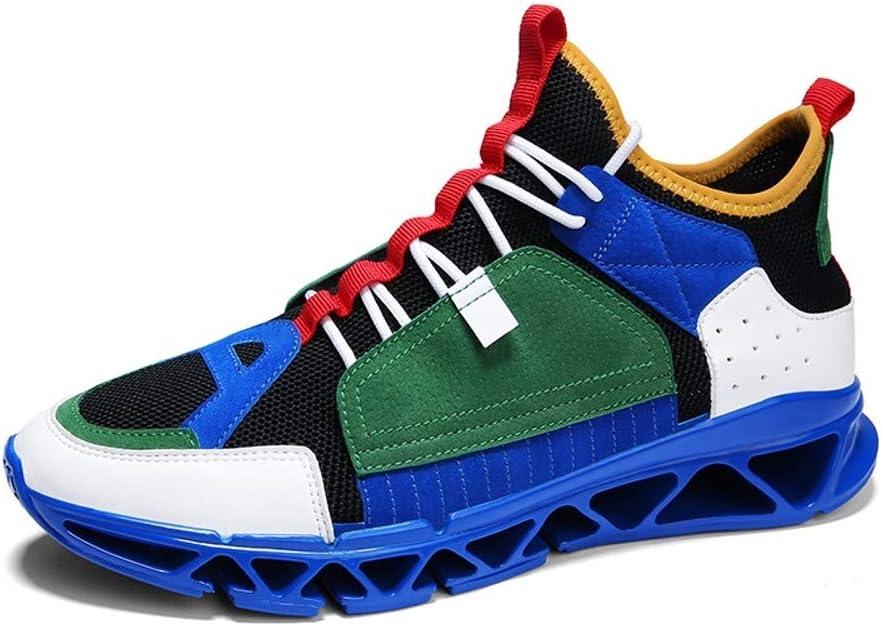 OPQZ Running Shoes Super Fire Shoes Mens Shoes Trend Sports Shoes Breathable,A,39: Amazon.es: Deportes y aire libre