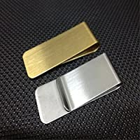 Liroyal Stainless Steel Money Clip 2 Pcs