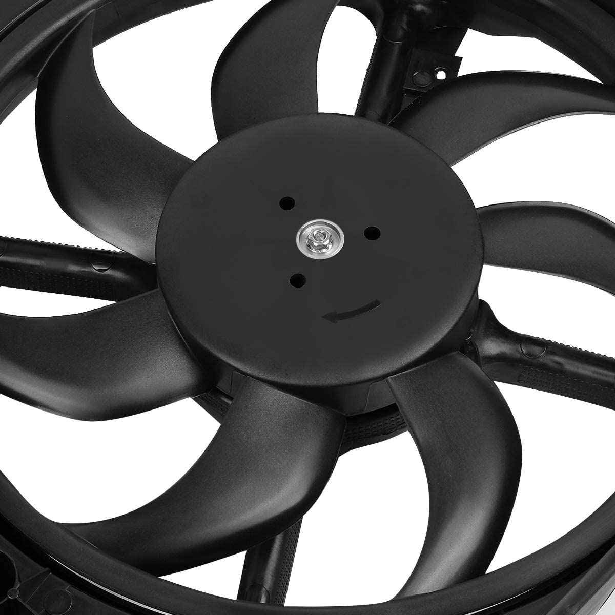 CH3115189 OE Style Radiator Cooling Fan Assembly Replacement for Ram Promaster 1500 2500 3500 3.0L 3.6L Turbo 14-18