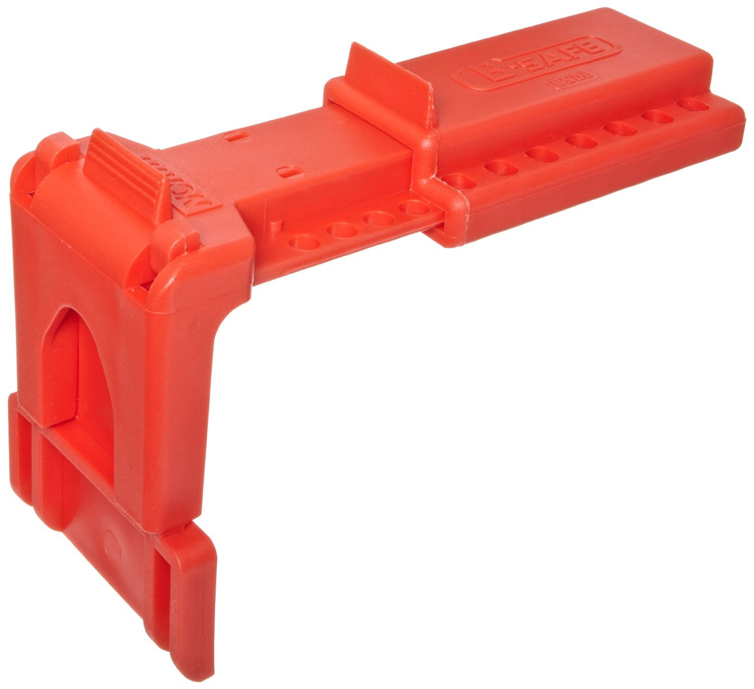 Honeywell BS01R North Red B-Safe Ball Valve Lockout for 3/8'' to 1-1/4'' Valves