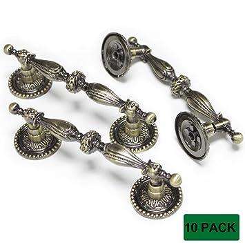 furniture handles. probrico furniture handles 3.5 inch hole spacing vintage kitchen drawer pulls 10 packs e