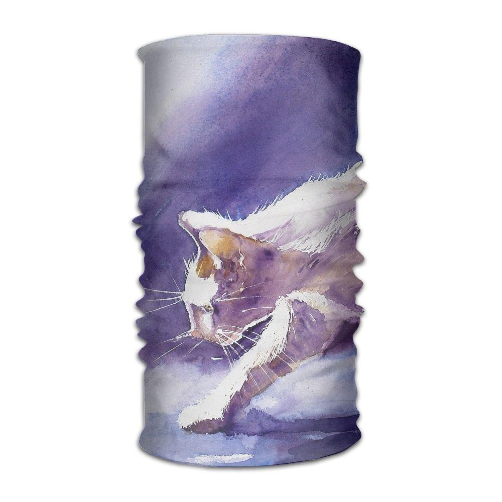 Magic Headwear Cat Painting Outdoor Scarf Headbands Bandana Mask Neck Gaiter Head Wrap Mask Sweatband