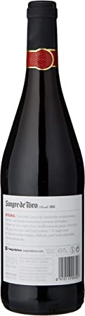 Sangre de Toro, Vino Tinto - 6 botellas de 75 cl, Total: 4500 ml