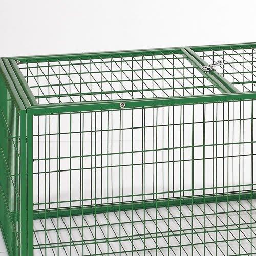 Flyline Rabbit Guinea Pig House Cage Hutch Run Pen 60302
