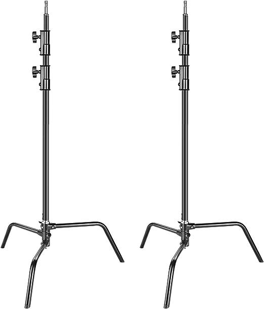 Neewer 2er Pack Hochleistungs Aluminium Legierung C Stativ