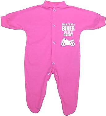 "3-6 Baby Sleepsuit Babygrow /""I love my daddy  Boys Girls Pink Blue 0-3 6-9mth"