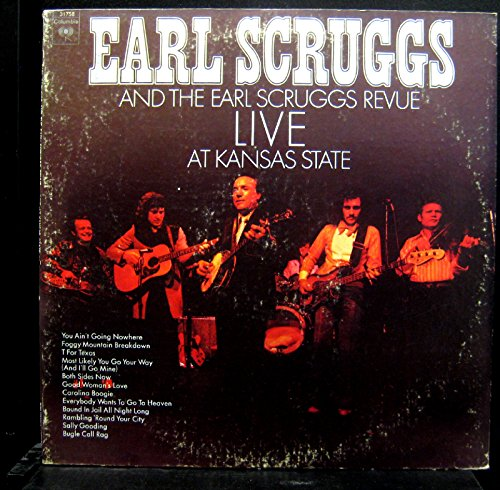 Earl Scruggs And The Earl Scruggs Revue - Live At Kansas State - Lp Vinyl Record
