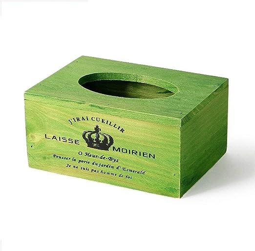 WOYQS Caja para Pañuelos de Papel Caja De Pañuelos Caja De ...