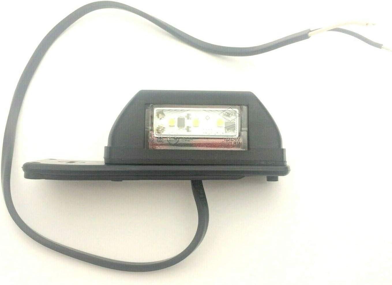 LED Umrissleuchte Anh/änger Trailer LKW Vordere Hintere 12//24V 6 LEDs E9 LINKS
