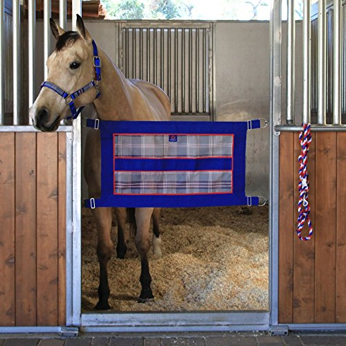 Guards Gate Collection (Kensington Stall Guard for Horses — Designed to Keep Horse Securely in Stall in Style — Adjustable Straps and Hardware Included)
