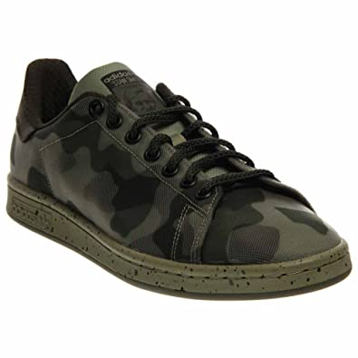 sale retailer 69dd1 f8b80 Amazon.com | adidas Men's Stan Smith Camo Casual Shoe#B34386 ...