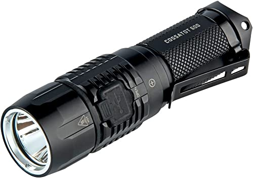 Factor Cossatot 600 Flashlight IPX-8 Waterproof CREE XP-G2 LED Rechargeable