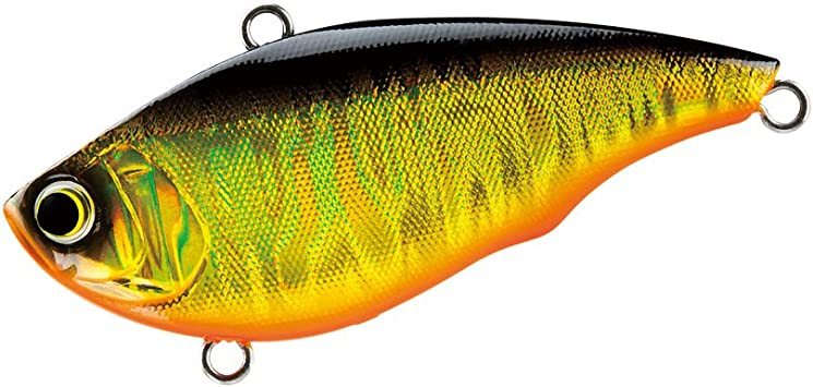 "NEW! Yo-Zuri Rattl'n Vibe Lipless Fishing Lure 2.5"" 5//8 oz Red Craw"