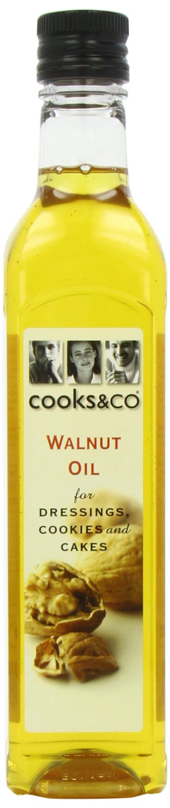 Cooks & Co - Specialty Oils & Vinegars - Walnut Oil - 500ml (Case of 6) by Cook's