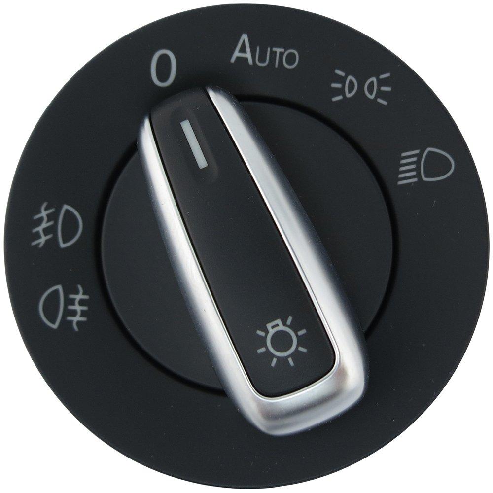 Amazon.com: Standard European Headlight Switch Auto - Brushed ...